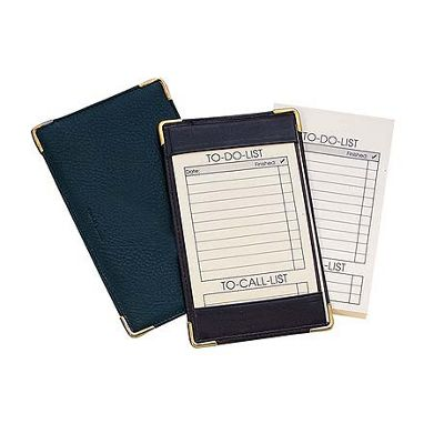 Royce Leather Pocket Jotter Black - Royce Leather Business Accessories