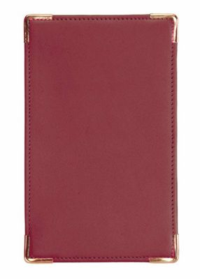 Royce Leather Royce Leather Pocket Jotter - Burgundy