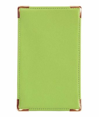 Royce Leather Pocket Jotter - Key Lime Green