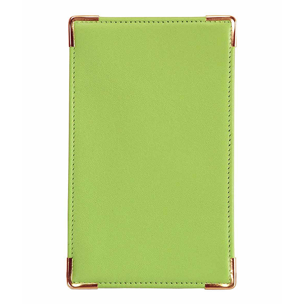 Royce Leather Pocket Jotter - Key Lime Green - Work Bags & Briefcases, Business Accessories