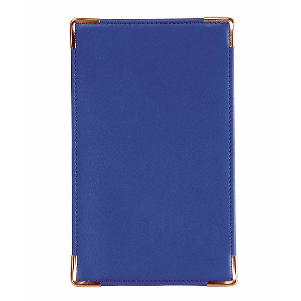 Royce Leather Pocket Jotter - Royce Blue - Work Bags & Briefcases, Business Accessories