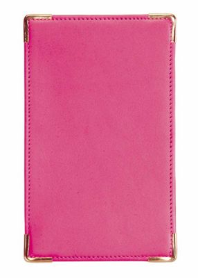 Royce Leather Pocket Jotter - Wild Berry