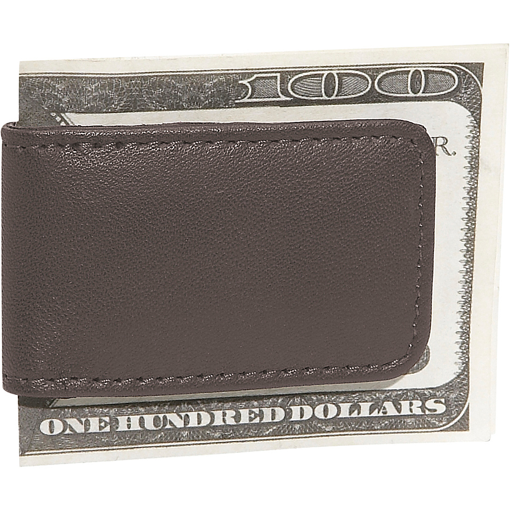 Royce Leather Magnetic Money Clip - Brown - Work Bags & Briefcases, Men's Wallets