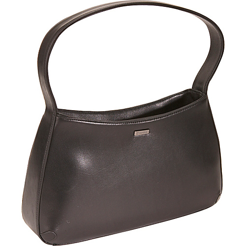 Bisadora Belle Zip Top Hobo - Black