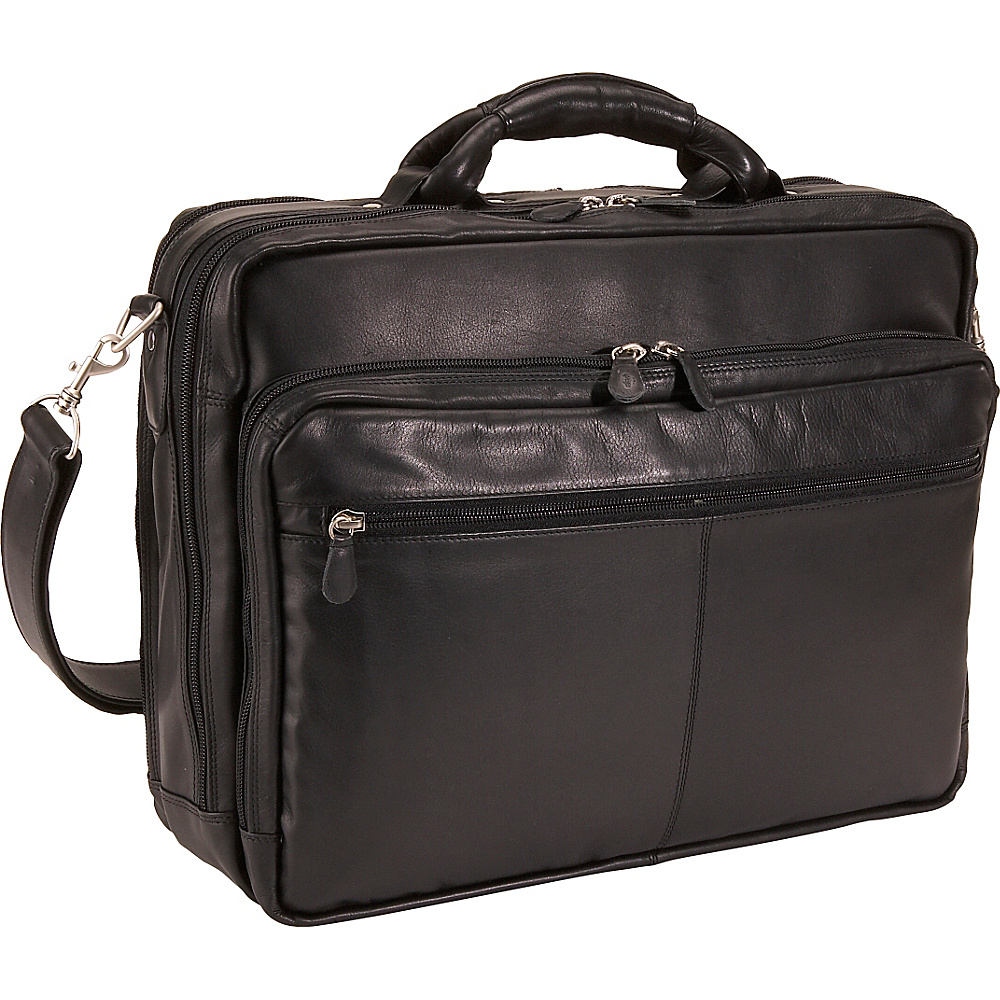 Derek Alexander Triple Compartment Computer Briefcase - Work Bags & Briefcases, Non-Wheeled Business Cases