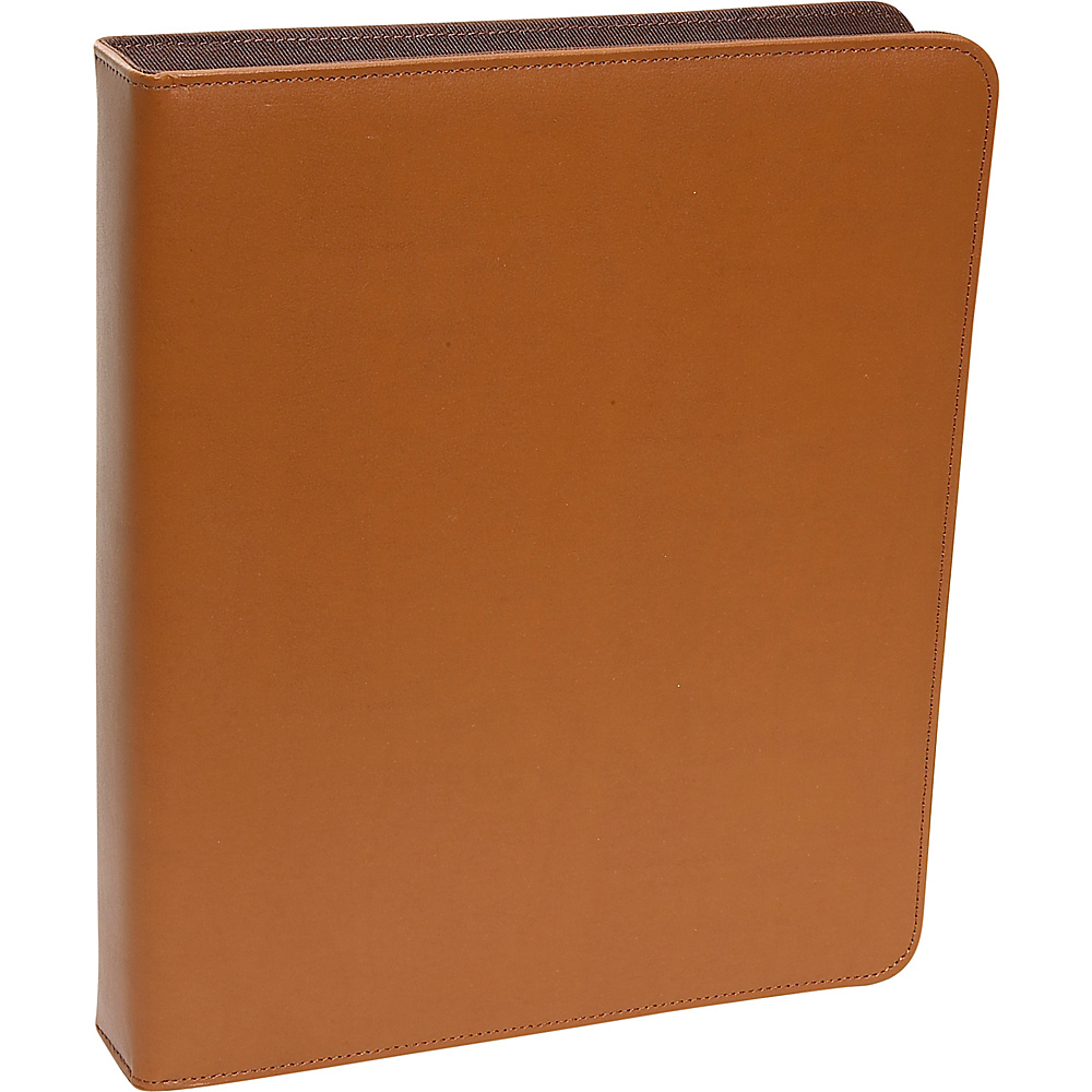 Royce Leather 1  Ring Binder - Tan - Work Bags & Briefcases, Business Accessories