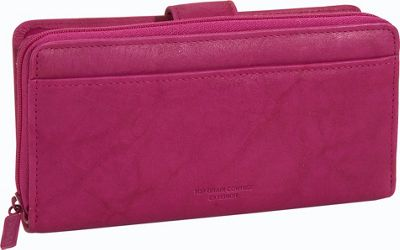 Buxton Heiress Checkbook Clutch 6 Colors Ladies Clutch ...