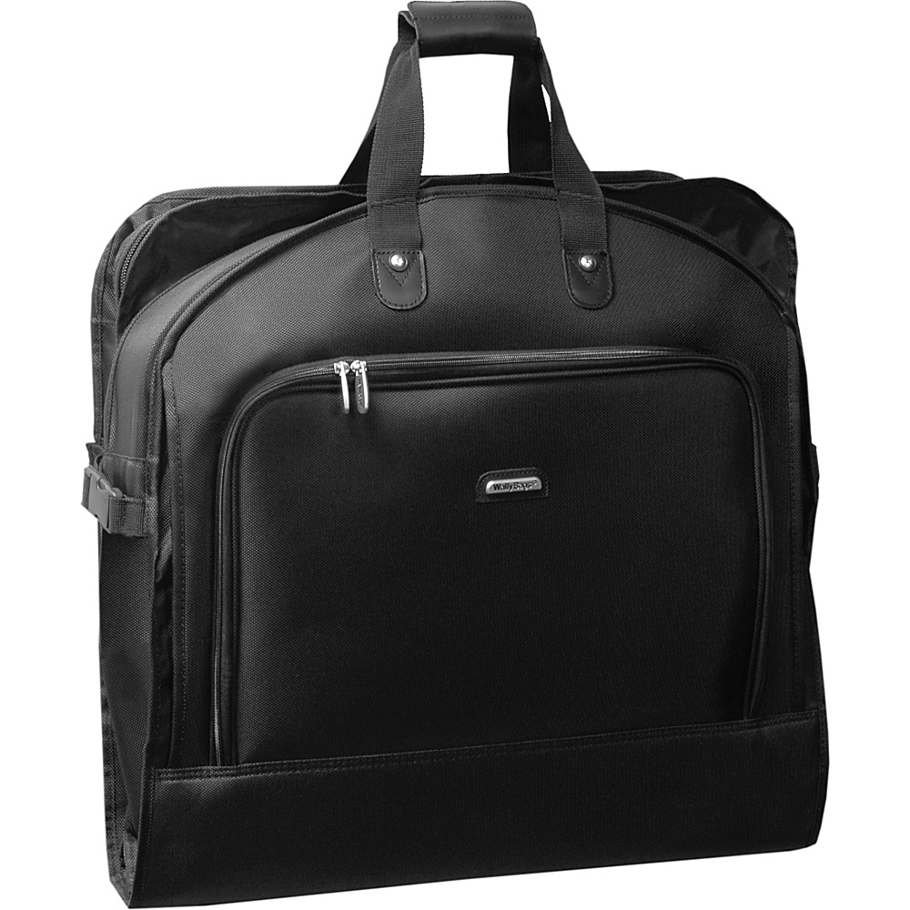 Wally Bags 45 Mid Length Garment Bag - Black - Luggage, Garment Bags