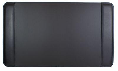 Bosca Nappa Vitello 34 inch x 20 inch Desk Pad - Black