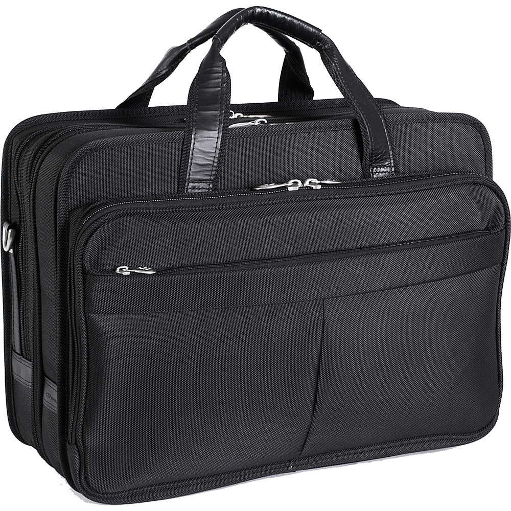 McKlein USA Walton Nylon 17 Expandable  Laptop Case - - Work Bags & Briefcases, Non-Wheeled Business Cases