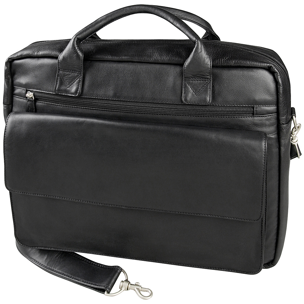 Derek Alexander Computer/Business Case - Black - Work Bags & Briefcases, Non-Wheeled Business Cases