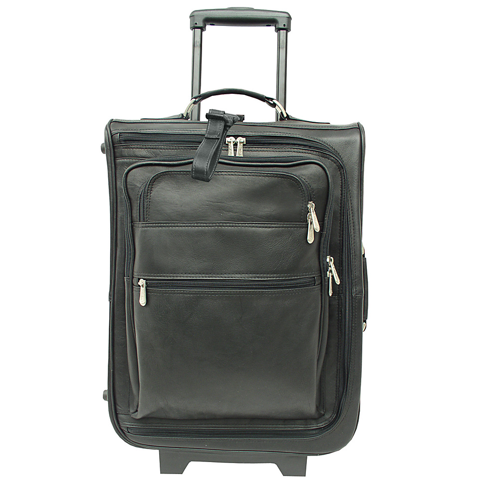 Piel 19 Multi-Pocket Wheeler - Black - Luggage, Softside Carry-On