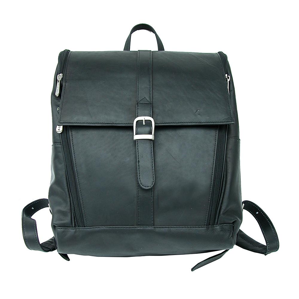 Piel Slim Computer Backpack - Black - Backpacks, Business & Laptop Backpacks