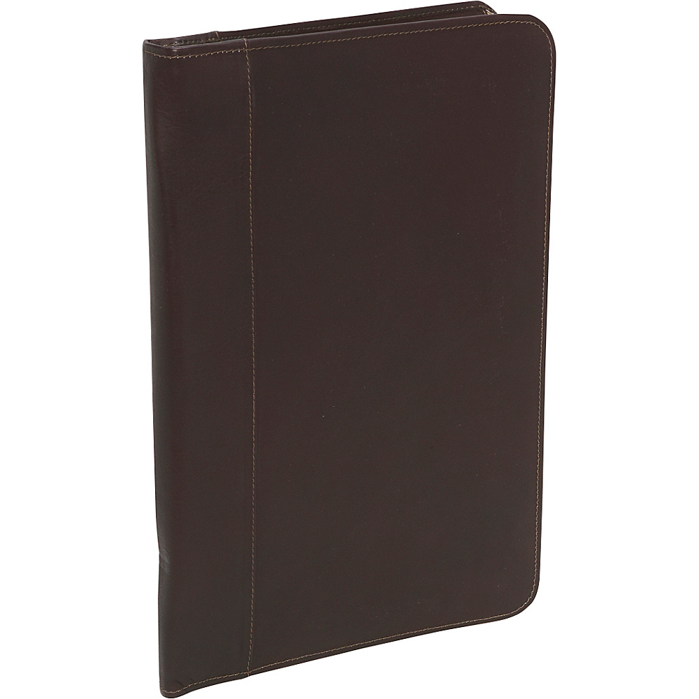 Piel Legal Size Open Notepad - Chocolate - Work Bags & Briefcases, Business Accessories
