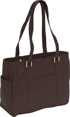 Piel Small Shopping Bag - Chocolate