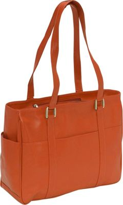 Piel Small Shopping Bag - Saddle