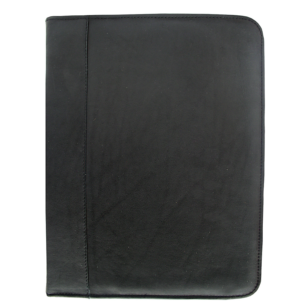 Piel Three-Ring Binder - Black - Work Bags & Briefcases, Business Accessories