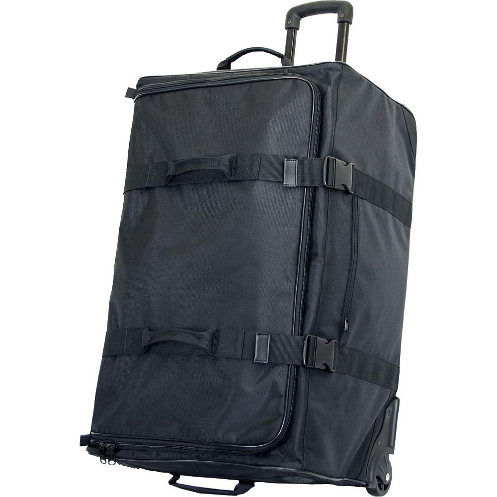 "Netpack FAT Boy 30"" Cargo Duffel Black - Netpack Rolling Duffels"