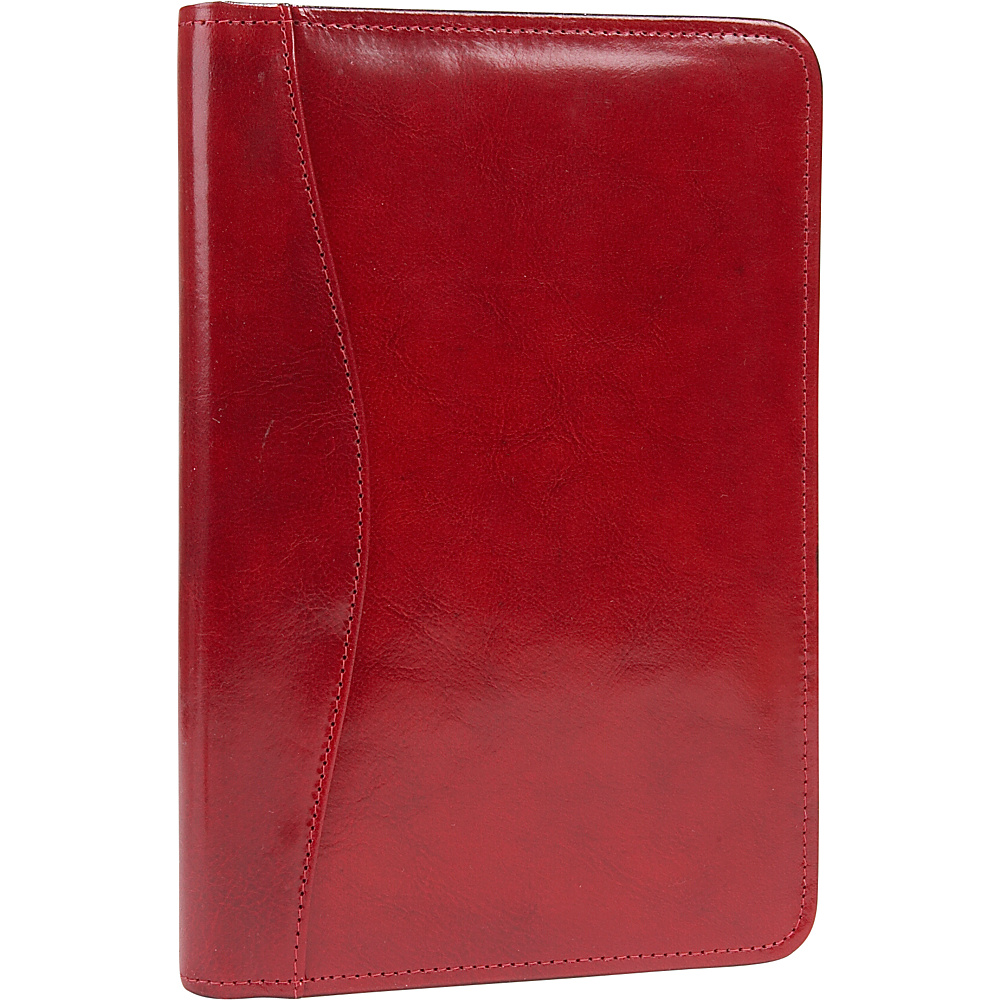 Scully Junior Zip Padfolio - Red - Work Bags & Briefcases, Business Accessories