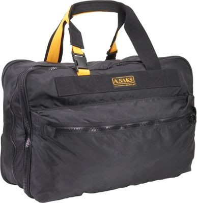 "Image of A. Saks EXPANDABLE 21"" Expandable Carry On - Black"