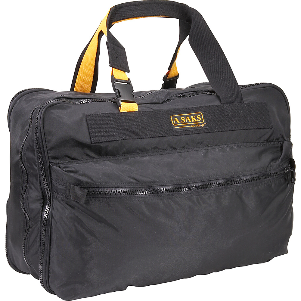 A. Saks EXPANDABLE 21 Expandable Carry On - Black - Luggage, Luggage Totes and Satchels