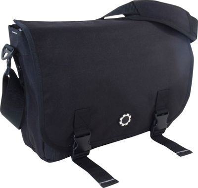 Kelty Messenger Diaper Bag - Black