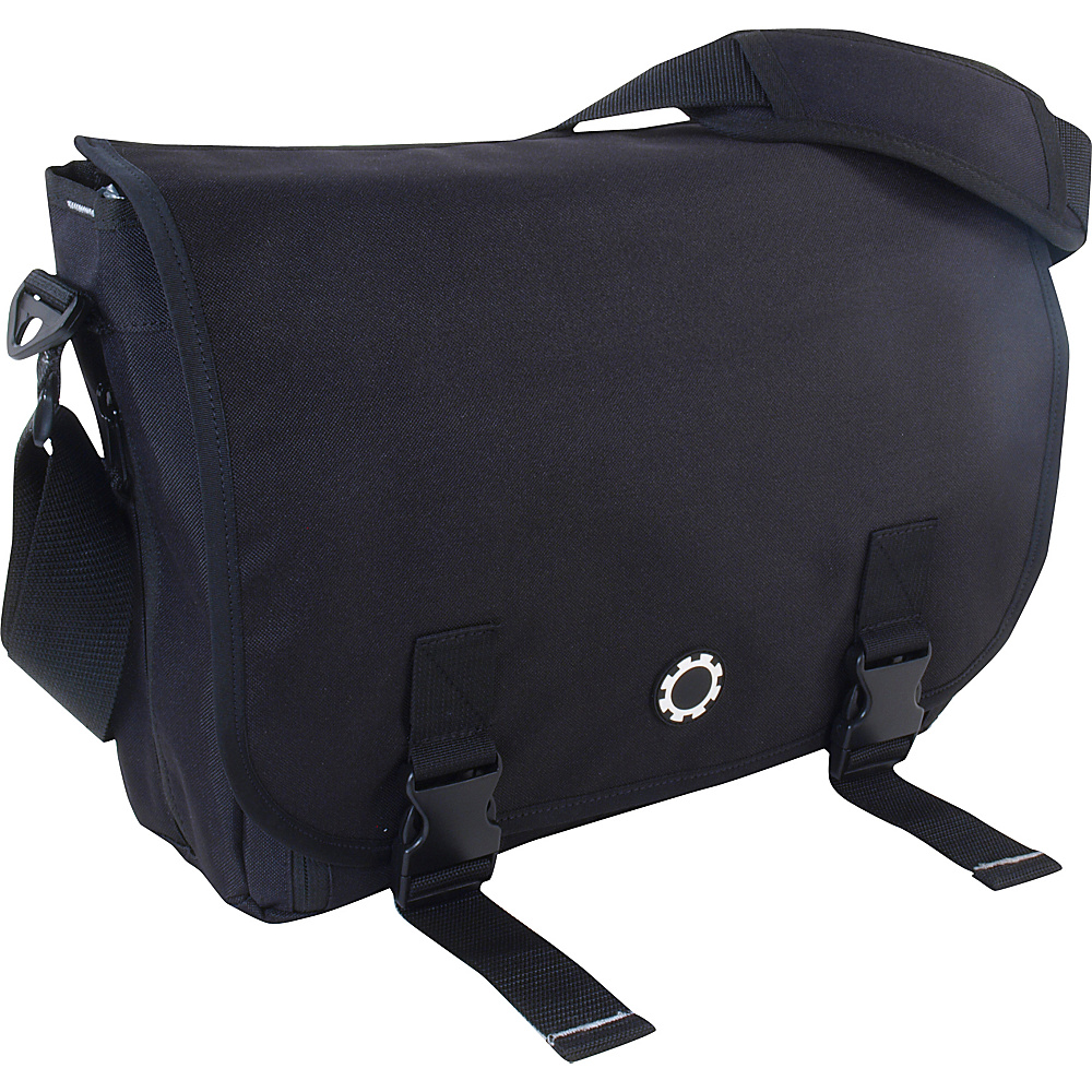 Kelty Messenger Diaper Bag - Black - Handbags, Diaper Bags & Accessories