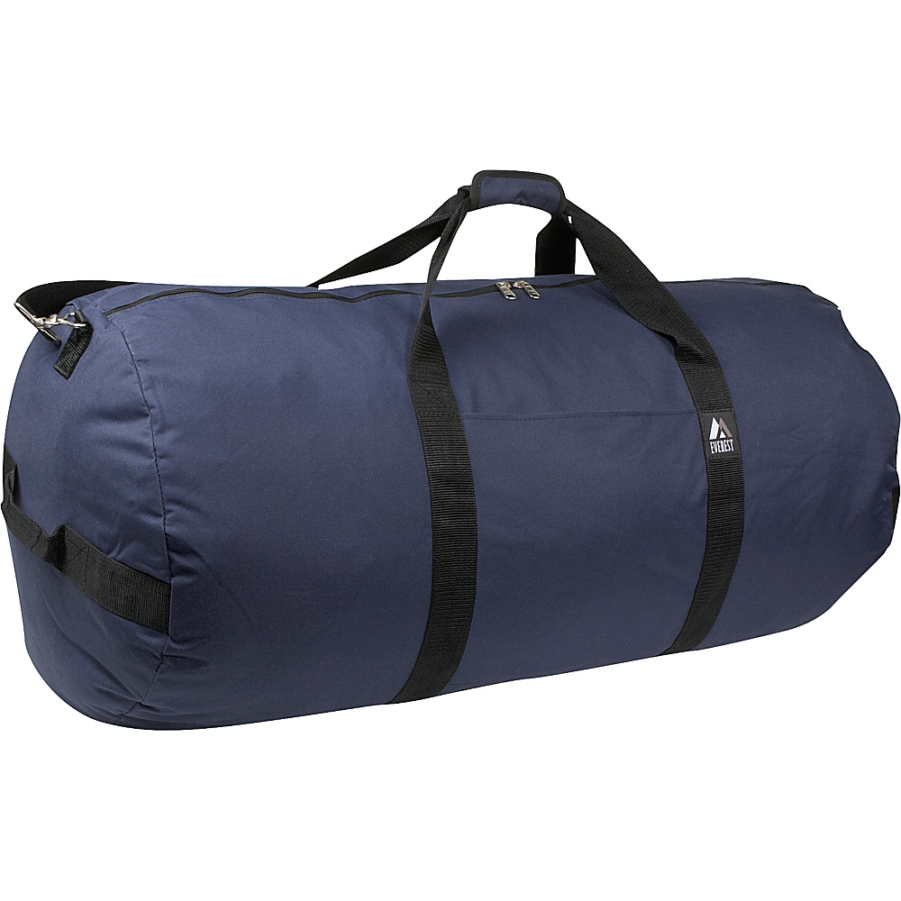 Everest 36 Round Duffel - Navy - Duffels, Travel Duffels