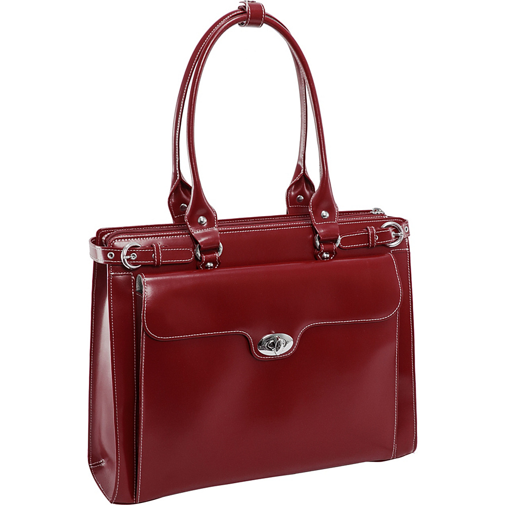 McKlein USA W Series Winnetka Leather Womens 15.4 - Work Bags & Briefcases, Women's Business Bags
