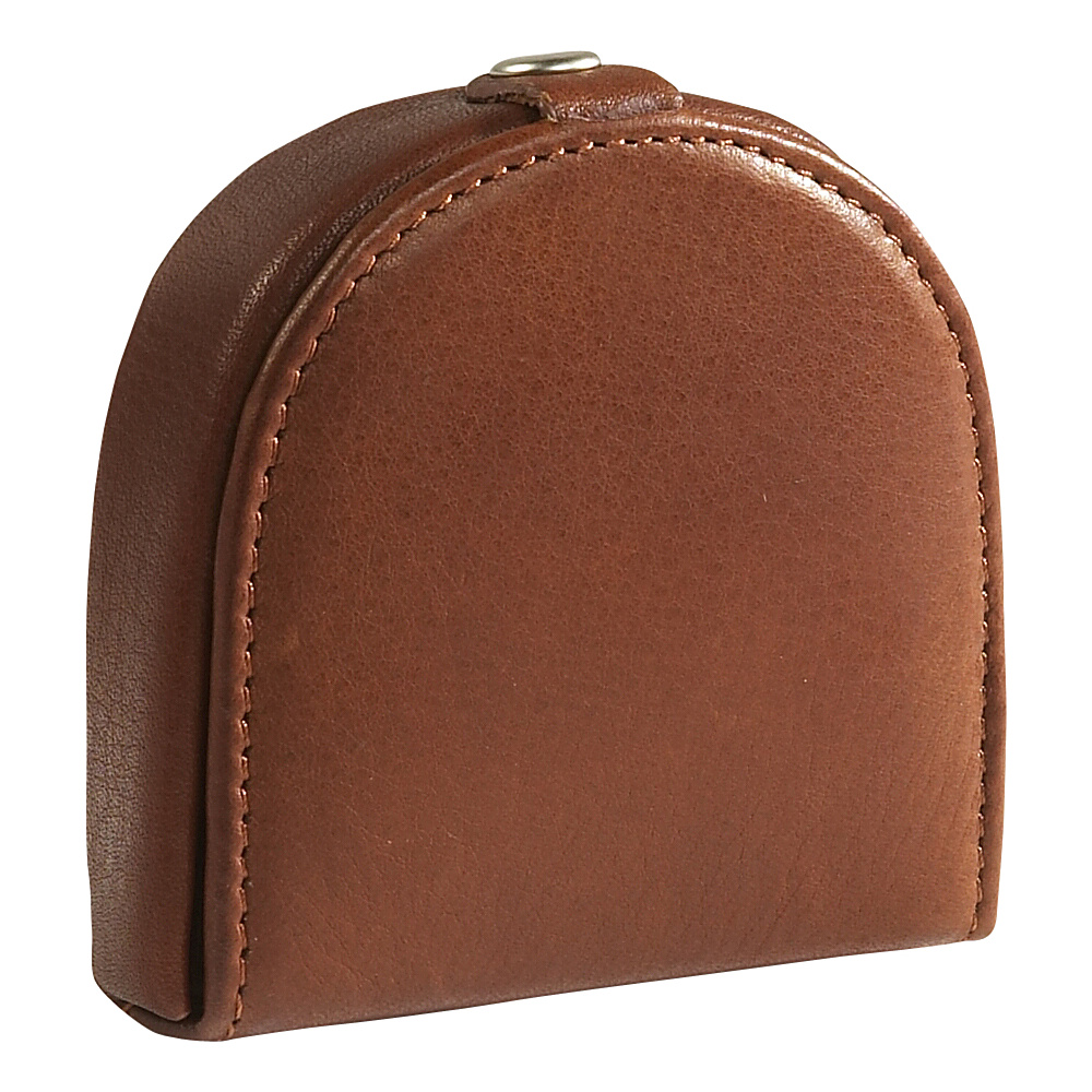 Osgoode Marley Cashmere Deluxe Coin Tray - Brandy - Work Bags & Briefcases, Men's Wallets