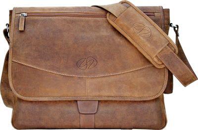 MacCase Premium Leather Shoulder Bag Vintage - MacCase Messenger Bags