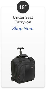 Shop 18 inch rolling luggage