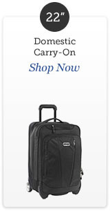 Shop 22 inch rolling luggage
