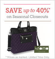 Knomo Laptop Tote Sale