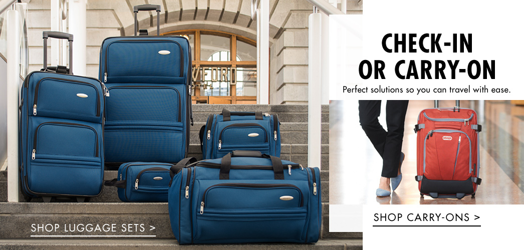 Shop Luggage Sets - Shop Carry-Ons
