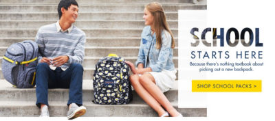 School Starts Here - Shop School Packs