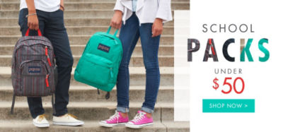 Shop School Packs under $50