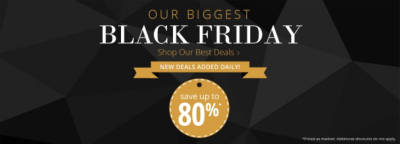 Our Biggest Black Friday Deals - Save Up To 80%
