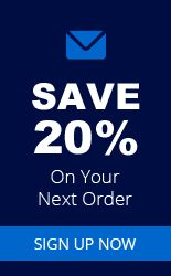 Save 20% On Your Next Order - Sign Up Now