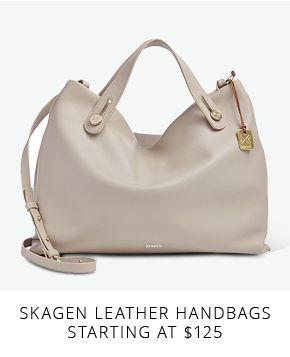 Skagen Leather Handbags starting at $125
