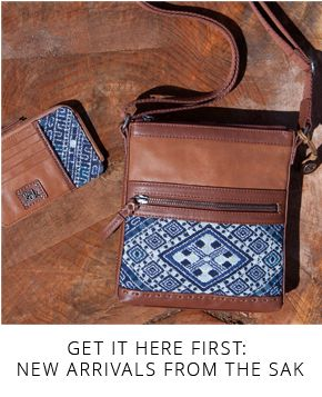 Get it here first: New arrivals from The Sak