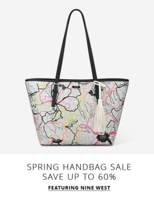 Spring Handbag Sale - Save up to 60% - Featuring Nine West