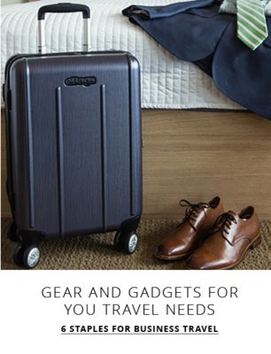 6 Staples for Business Travel - Gear and gadgets for you travel needs