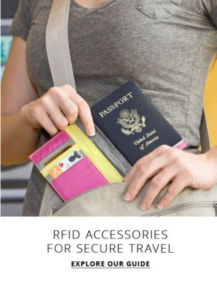 Privacy Please - RFID  accessories for secure travel - Explore our guide