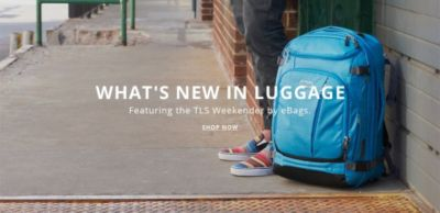What's New in Luggage - Featuring the TLS Weekender by eBags - Shop Now