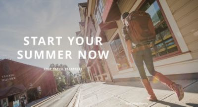 Start you Summer Now - Travel Backpacks - Featuring Osprey