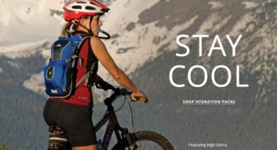 Stay Cool - Shop Hydration Packs