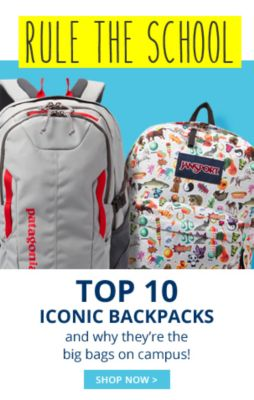 Top 10 Iconic Backpacks