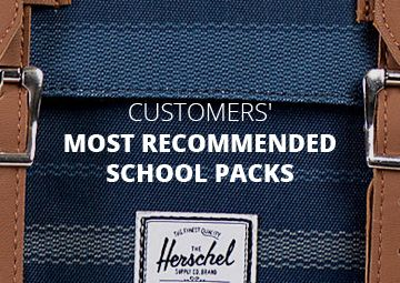 Customers' Most Recommended School Packs