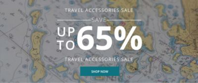 Travel Accessories | Up to 65% Off